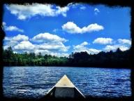 Canoe ride.
