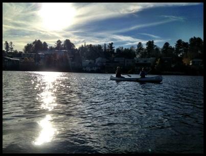 Paddle on Mirror Lake