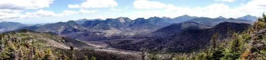 View of summit of Big Slide