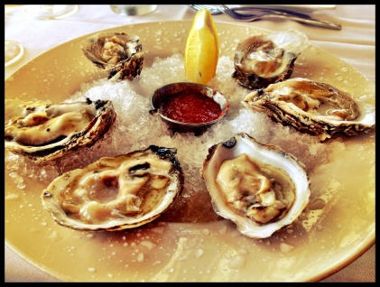 Oysters. Yes Please