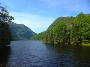 Some nice views at Lower Ausable Lake