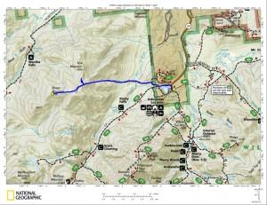 Street and Nye Trail Map