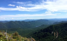 Saddleback Summit looking at the Great Range