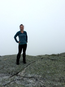 Yep that's the summit. Gotta love that view of clouds.