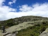 Climb back up Algonquin