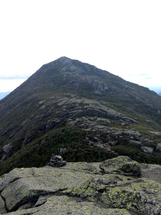 View of Haystack from Little Haystack
