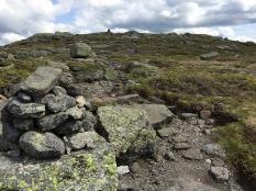 Last climb of the summit